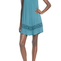 ASTR Crochet Inset Shift Dress | Nordstrom