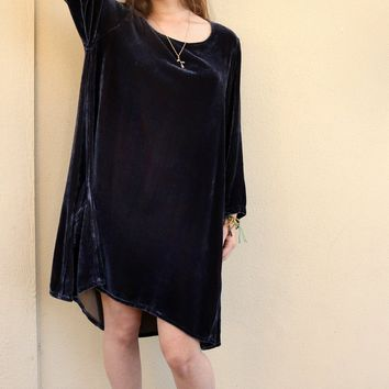 Side Pocket Tunic - Metal by Cut Loose