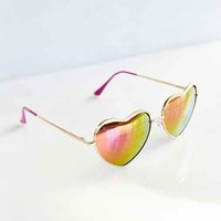Heart Of Gold Sunglasses-