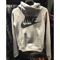 NIKE Sport Fashion Print Hooded Top Sweater Hoodie