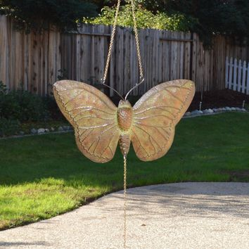 Metal Butterfly Windchime Mobile
