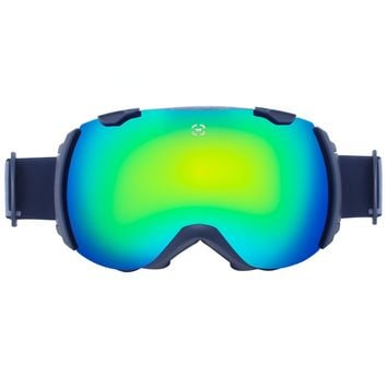Winterial Globe Ski and Snowboard Goggles Black