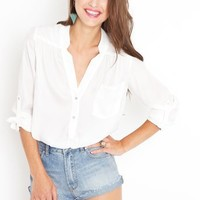 Cloud Nine Blouse in Clothes Tops at Nasty Gal