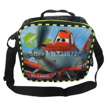 Planes Dusty Lunch Bag for Kids Boys School Messenger Bag for Lunch Box Thermal Lunchbag Cartoon Lunchbox Child Picnic Food Bag