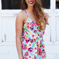 Pocket Full Of Floral Romper