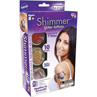Shimmer Body Art Glitter Tattoo Kit