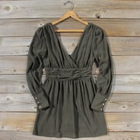 Midnight Sage Dress