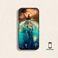 Little mermaid phone case Disney mermaid phone case, iPhone 4/4s 5/5s Galaxy s3 s4 s5 Hard plastic and soft Rubber