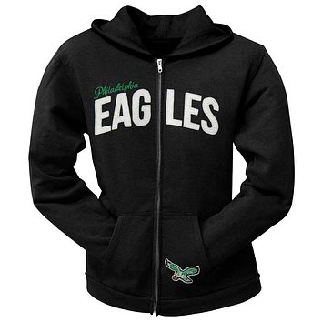 Philadelphia Eagles - Pep Rally Premium Juniors Full Zip Hoodie 83dca455a