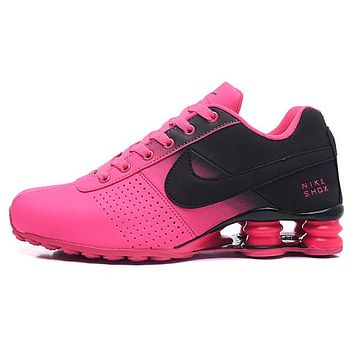 NIKE AIR Shox Woman Men Fashion Sneakers Sport Shoes 2747dc623