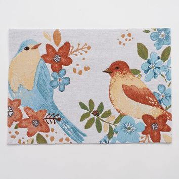 SONOMA life + style Bird Tapestry Placemat