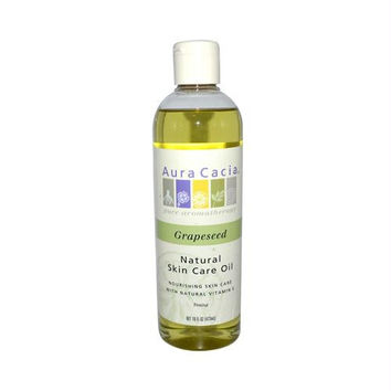 Aura Cacia Natural Skin Care Oil Grapeseed - 16 fl oz