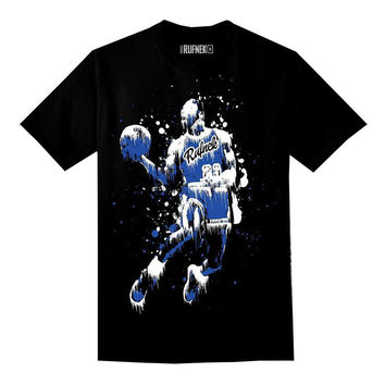 Rufnek Hardware MJ Dripz Blues Black Tee