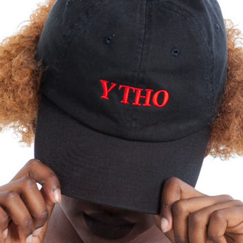 Y THO Embroidered Cap