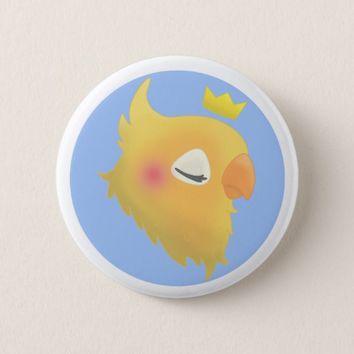 Royal Bird Pinback Button