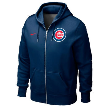 Chicago Cubs Nike Classic Full Zip Hoodie 1.2 – Navy Blue
