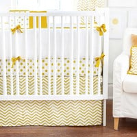 New Arrivals Gold Rush Baby Bedding