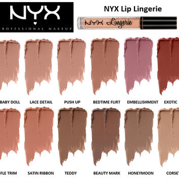 NYX charm color liquid Matte Lip Color Lipstick 12 [6439083140]