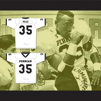 Historical Boobie Miles 35 Permian High School Panthers Jersey