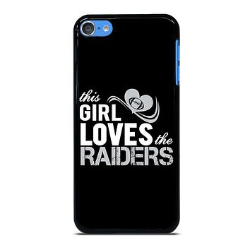 THIS GIRL LOVES THE RAIDERS 2 iPod Touch 7 Case