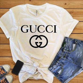 ONETOW Gucci Girl - Womens clothing - Women shirts - women t-shirts - shirts for women