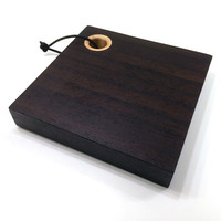 African Wenge and American Maple Small Cutting Cube