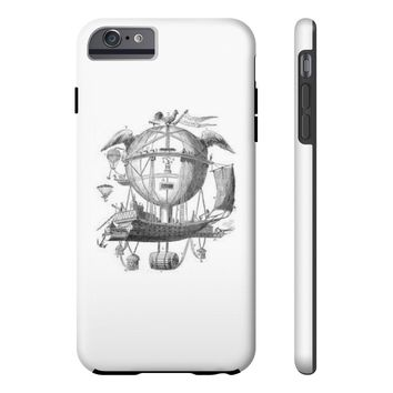 Tough Iphone 6/6s Plus with Hot Air Balloon Flying Airship Art Print