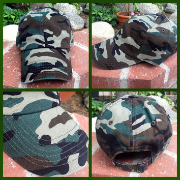 Army Camo Ball Cap