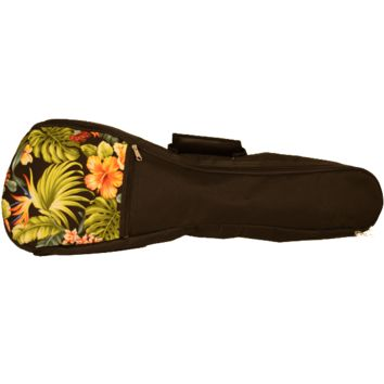 Kala Padded Floral Pattern Ukulele Bag