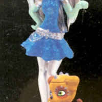 Monster High Scary Cute Frankie Stein Watzit New in Box Mini