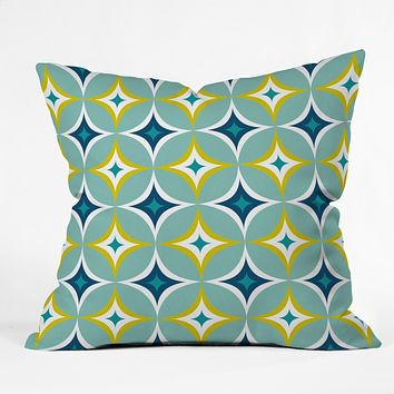 Heather Dutton Astral Slingshot Throw Pillow