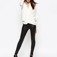 J.D.Y Faux Leather Legging