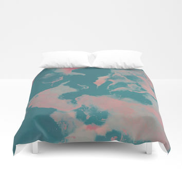 You Little Weirdo Duvet Cover by duckyb