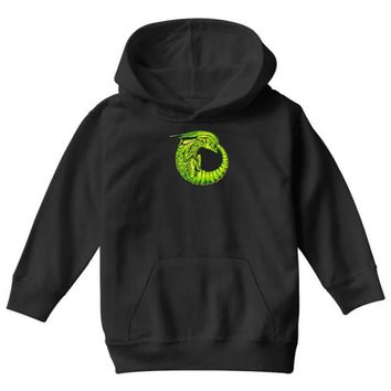 alien ouroboros Youth Hoodie