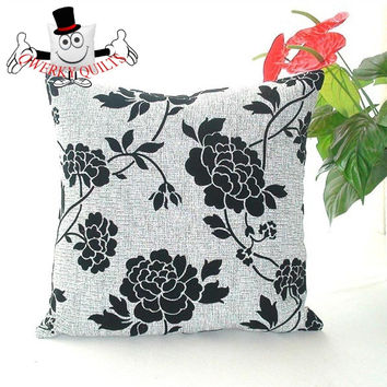 Concise Style Printed Cushion Cover With Cushion Insert
