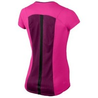Nike Dri-FIT Racer Short Sleeve T-Shirt - Women's at Lady Foot Locker