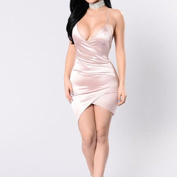 Starlight Beauty Dress - Blush