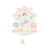 Little Twin Stars Wall Clock: Pendulum