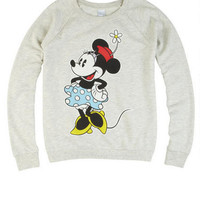 Minnie Pose Sweatshirt - Oatmeal