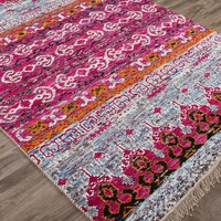 Belmar Bohemian Hand Knotted Rug