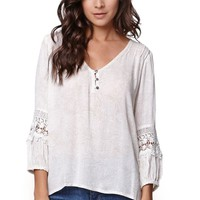 O'Neill Gracie Boho Long Sleeve Top - Womens Shirts
