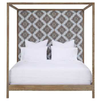 Broxton Bed, Queen, Canopy Beds