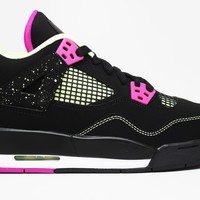 Air Jordan 4 Retro 30th Fuchsia GG BG Basketball Shoes <>