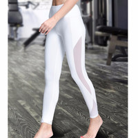 Women Yoga Compression Pants with Pocket for Workout.