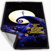 The Nightmare Before Christmas Blanket for Kids Blanket, Fleece Blanket Cute and Awesome Blanket for your bedding, Blanket fleece **