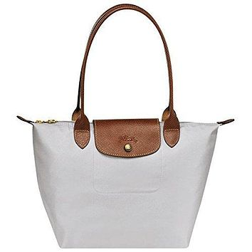 "Small tote bag L ( pearl ) by longchamp paris "" LE PLIAGE"" 100% authentic original from PARIS FRANCE"