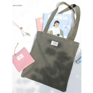 Donbook Wish blossom mind eco tote bag