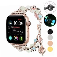 Apple Watch Band Beaded Luminous Glow in dark