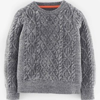 Boy's Mini Boden 'Viking' Wool Blend Sweater,