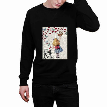 Alice in Wonderland Madhatter Chershire Cat 95d9c931-53e8-4b73-b05e-3194512c36ad - Sweater for Man and Woman, S / M / L / XL / 2XL *02*